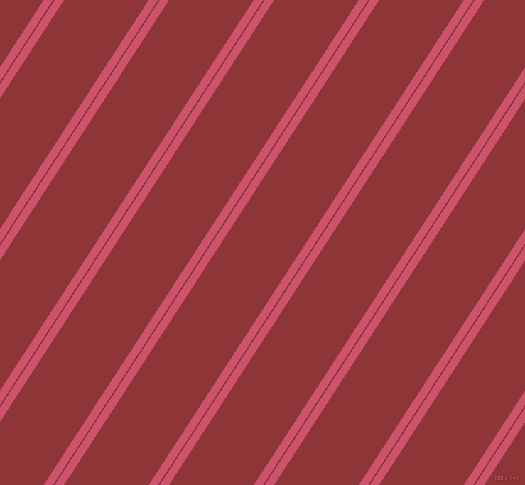 57 degree angles dual striped lines, 11 pixel lines width, 2 and 100 pixels line spacing, dual two line striped seamless tileable