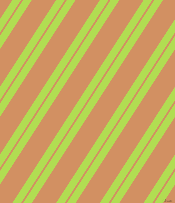 57 degree angles dual stripe line, 25 pixel line width, 6 and 70 pixels line spacing, dual two line striped seamless tileable
