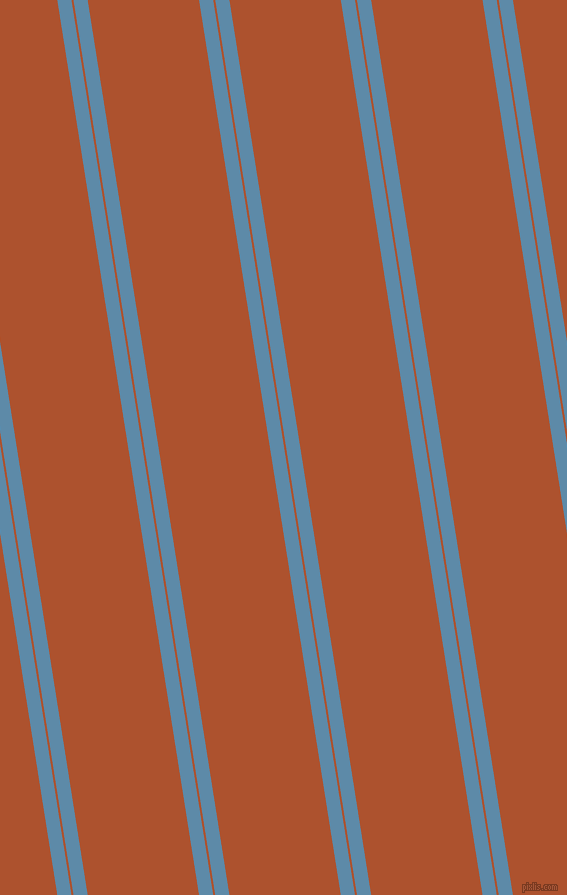 99 degree angles dual stripe line, 14 pixel line width, 2 and 110 pixels line spacing, Air Force Blue and Red Stage dual two line striped seamless tileable