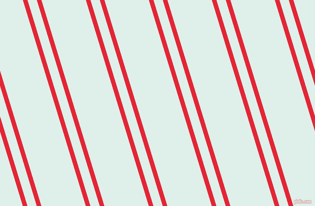 107 degree angles dual stripes line, 9 pixel line width, 18 and 86 pixels line spacing, Alizarin and Clear Day dual two line striped seamless tileable