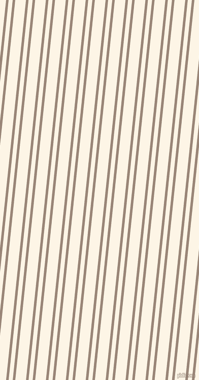 84 degree angles dual stripe lines, 5 pixel lines width, 8 and 21 pixels line spacing, Almond Frost and Old Lace dual two line striped seamless tileable
