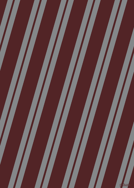 74 degree angles dual stripe lines, 17 pixel lines width, 6 and 45 pixels line spacing, Aluminium and Lonestar dual two line striped seamless tileable