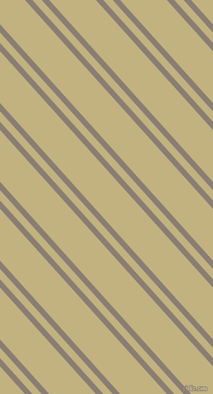 132 degree angle dual stripe lines, 8 pixel lines width, 10 and 50 pixel line spacing, Americano and Ecru dual two line striped seamless tileable
