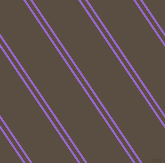 124 degree angle dual stripe lines, 7 pixel lines width, 12 and 126 pixel line spacing, Amethyst and Rock dual two line striped seamless tileable