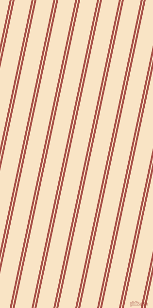 78 degree angle dual stripe lines, 4 pixel lines width, 2 and 34 pixel line spacing, Apple Blossom and Egg Sour dual two line striped seamless tileable