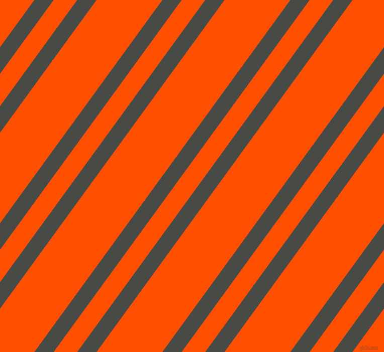 54 degree angle dual stripes lines, 31 pixel lines width, 38 and 106 pixel line spacing, Armadillo and International Orange dual two line striped seamless tileable