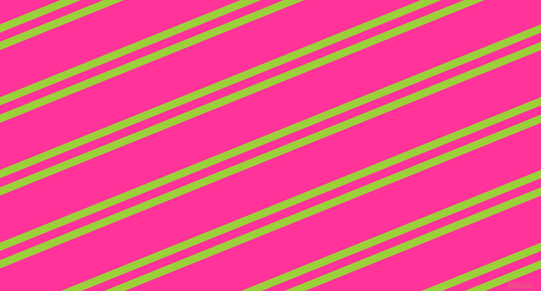 22 degree angles dual striped lines, 11 pixel lines width, 12 and 62 pixels line spacing, Atlantis and Wild Strawberry dual two line striped seamless tileable