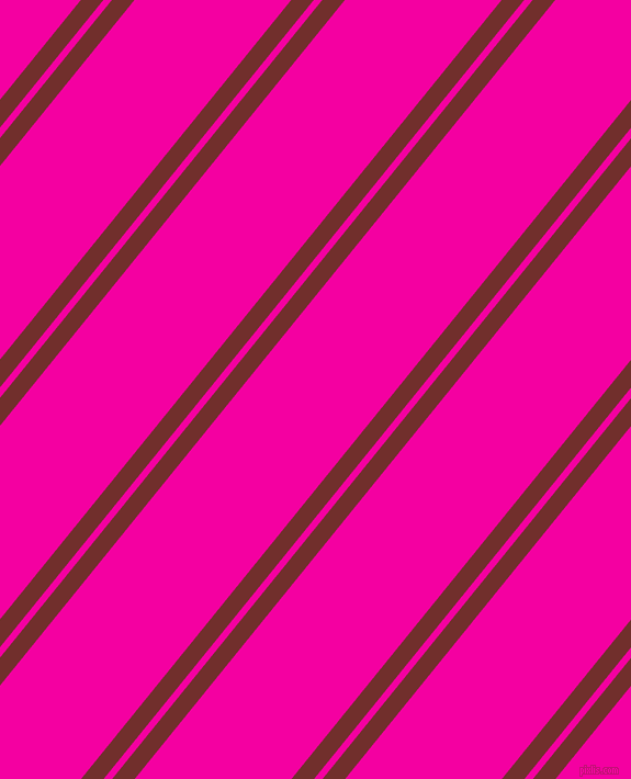51 degree angle dual stripe lines, 16 pixel lines width, 6 and 111 pixel line spacing, Auburn and Hollywood Cerise dual two line striped seamless tileable