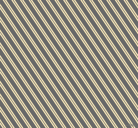 124 degree angle dual stripe lines, 4 pixel lines width, 2 and 14 pixel line spacing, Barley White and Dim Gray dual two line striped seamless tileable