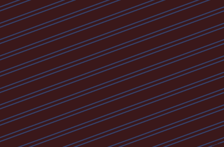 20 degree angle dual stripe line, 4 pixel line width, 8 and 34 pixel line spacing, Bay Of Many and Rustic Red dual two line striped seamless tileable