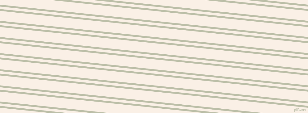 174 degree angles dual stripe lines, 6 pixel lines width, 8 and 32 pixels line spacing, Beryl Green and Linen dual two line striped seamless tileable