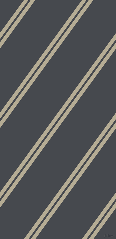 54 degree angles dual striped lines, 12 pixel lines width, 6 and 123 pixels line spacing, Bison Hide and Tuna dual two line striped seamless tileable