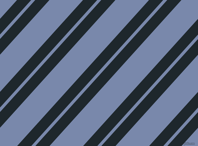 48 degree angle dual stripe lines, 35 pixel lines width, 10 and 83 pixel line spacing, Black Pearl and Ship Cove dual two line striped seamless tileable