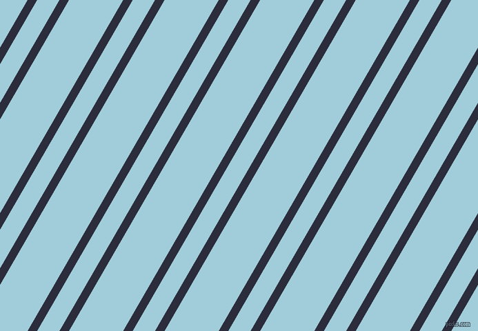 60 degree angles dual stripes line, 12 pixel line width, 28 and 68 pixels line spacing, Black Rock and Regent St Blue dual two line striped seamless tileable