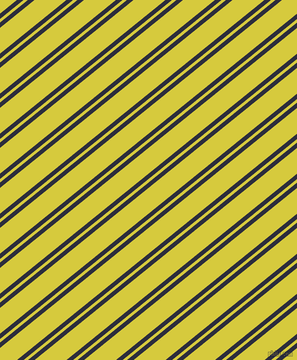 39 degree angles dual stripes lines, 6 pixel lines width, 4 and 29 pixels line spacing, Black Rock and Wattle dual two line striped seamless tileable