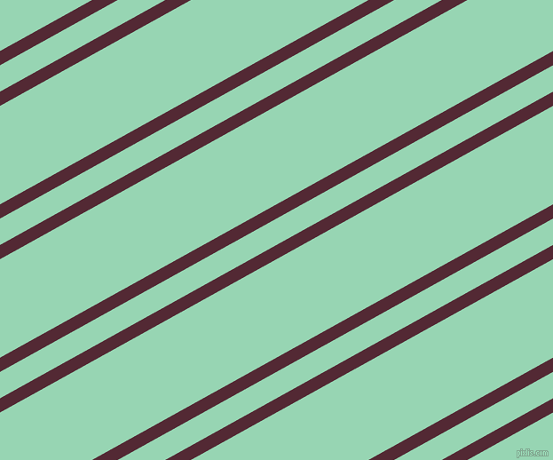 29 degree angles dual stripes lines, 14 pixel lines width, 26 and 97 pixels line spacing, Black Rose and Vista Blue dual two line striped seamless tileable