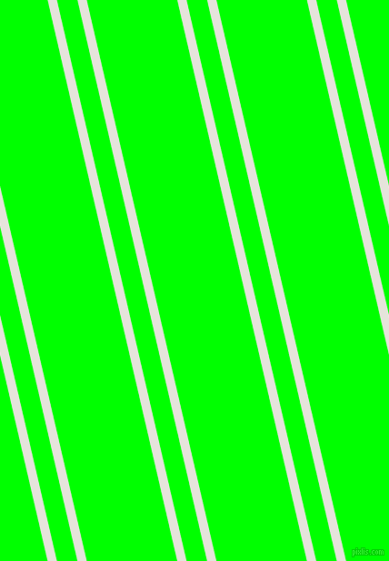 103 degree angles dual stripes lines, 10 pixel lines width, 22 and 97 pixels line spacing, Black White and Lime dual two line striped seamless tileable