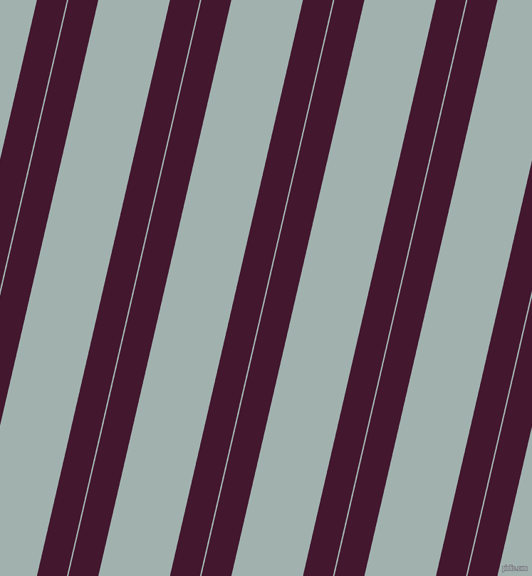 77 degree angles dual stripes line, 41 pixel line width, 2 and 98 pixels line spacing, Blackberry and Conch dual two line striped seamless tileable
