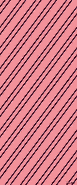 53 degree angles dual striped lines, 5 pixel lines width, 12 and 28 pixels line spacing, Blackberry and Wewak dual two line striped seamless tileable