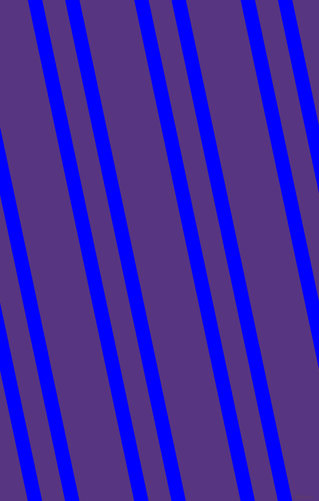 102 degree angles dual striped line, 29 pixel line width, 46 and 110 pixels line spacing, Blue and Kingfisher Daisy dual two line striped seamless tileable