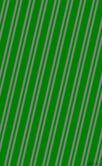 77 degree angle dual striped line, 7 pixel line width, 6 and 22 pixel line spacing, Blue Smoke and Green dual two line striped seamless tileable
