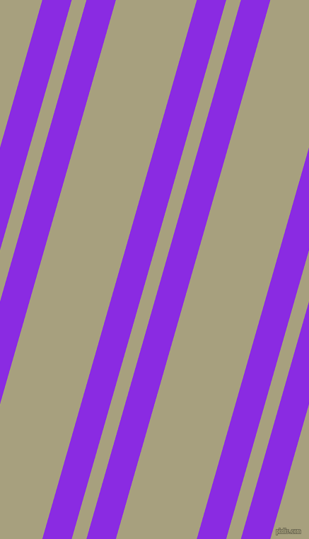74 degree angle dual stripes line, 40 pixel line width, 20 and 110 pixel line spacing, Blue Violet and Hillary dual two line striped seamless tileable
