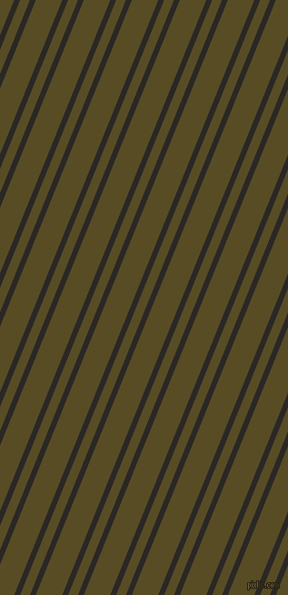 68 degree angle dual striped line, 6 pixel line width, 10 and 27 pixel line spacing, Bokara Grey and Bronze Olive dual two line striped seamless tileable