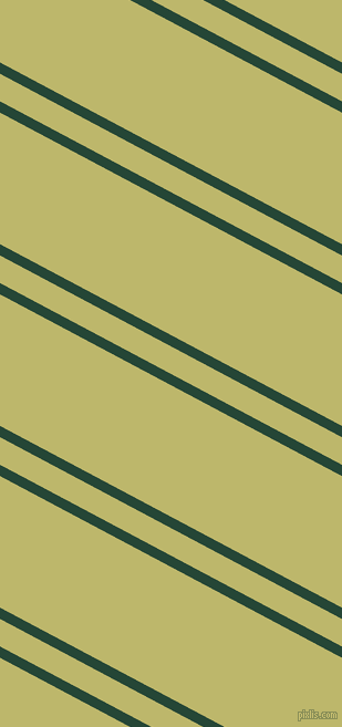 152 degree angle dual striped lines, 9 pixel lines width, 22 and 105 pixel line spacing, Bottle Green and Dark Khaki dual two line striped seamless tileable
