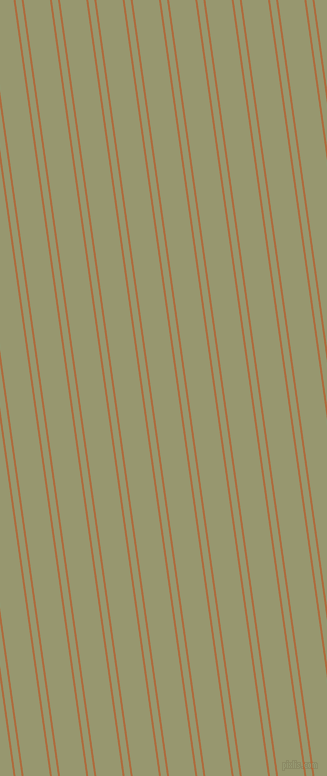 98 degree angle dual stripe lines, 2 pixel lines width, 6 and 26 pixel line spacing, Bourbon and Malachite Green dual two line striped seamless tileable