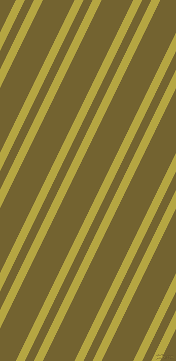 64 degree angles dual stripes lines, 16 pixel lines width, 16 and 56 pixels line spacing, Brass and Himalaya dual two line striped seamless tileable