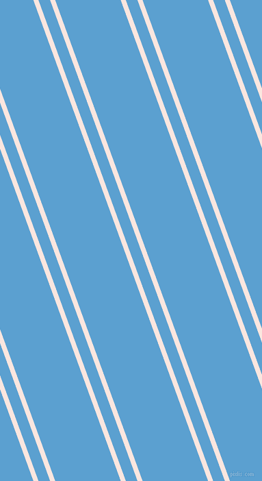 110 degree angles dual striped line, 7 pixel line width, 16 and 90 pixels line spacing, Bridesmaid and Picton Blue dual two line striped seamless tileable