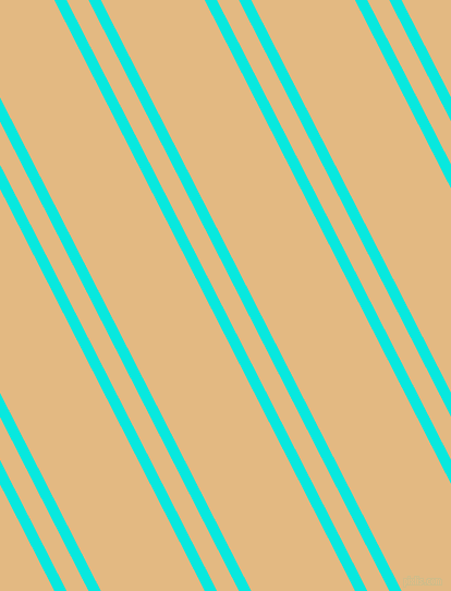 117 degree angle dual stripes lines, 10 pixel lines width, 18 and 85 pixel line spacing, Bright Turquoise and Maize dual two line striped seamless tileable