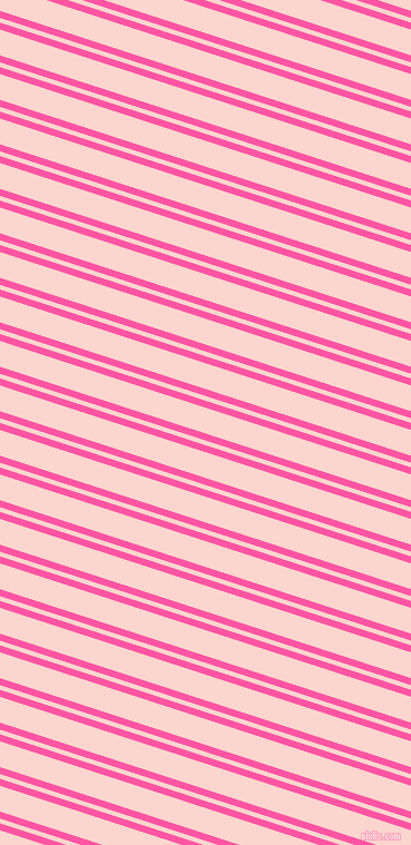 162 degree angle dual stripes line, 6 pixel line width, 4 and 22 pixel line spacing, Brilliant Rose and Cosmos dual two line striped seamless tileable