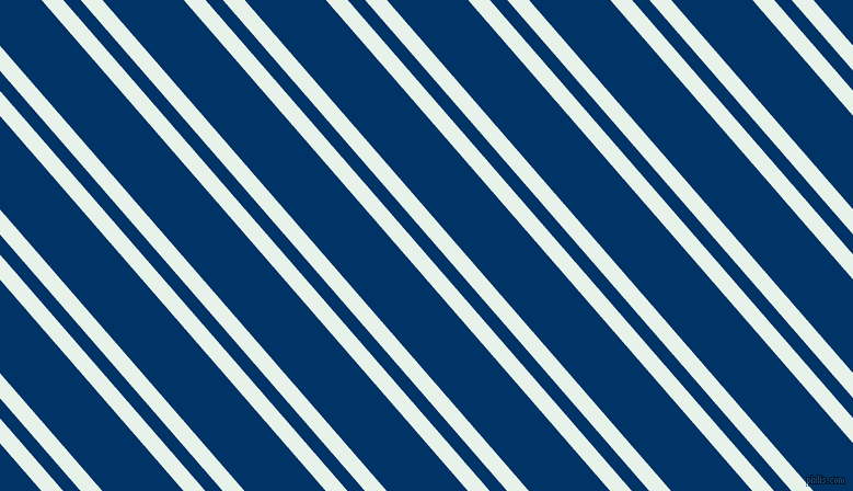 131 degree angle dual stripe lines, 15 pixel lines width, 12 and 56 pixel line spacing, Bubbles and Prussian Blue dual two line striped seamless tileable