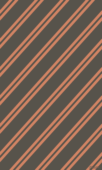 48 degree angles dual striped line, 9 pixel line width, 6 and 41 pixels line spacing, Burning Sand and Masala dual two line striped seamless tileable