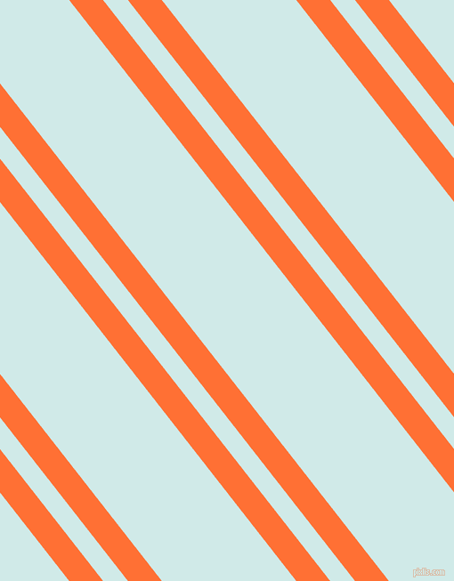 128 degree angles dual striped lines, 30 pixel lines width, 22 and 119 pixels line spacingBurnt Orange and Foam dual two line striped seamless tileable