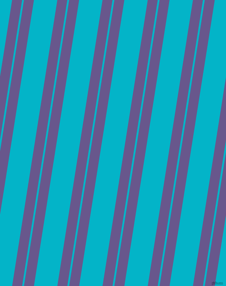 81 degree angle dual stripes lines, 32 pixel lines width, 6 and 75 pixel line spacing, Butterfly Bush and Iris Blue dual two line striped seamless tileable