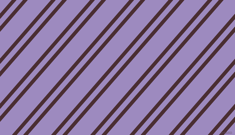 49 degree angle dual stripe line, 12 pixel line width, 16 and 58 pixel line spacing, Cab Sav and Cold Purple dual two line striped seamless tileable