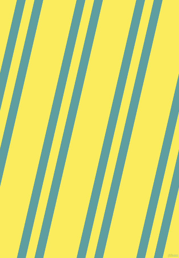 77 degree angle dual striped line, 30 pixel line width, 30 and 114 pixel line spacing, Cadet Blue and Corn dual two line striped seamless tileable