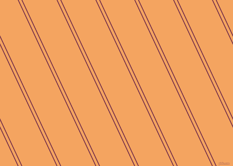 115 degree angles dual stripes lines, 3 pixel lines width, 8 and 101 pixels line spacing, Camelot and Sandy Brown dual two line striped seamless tileable