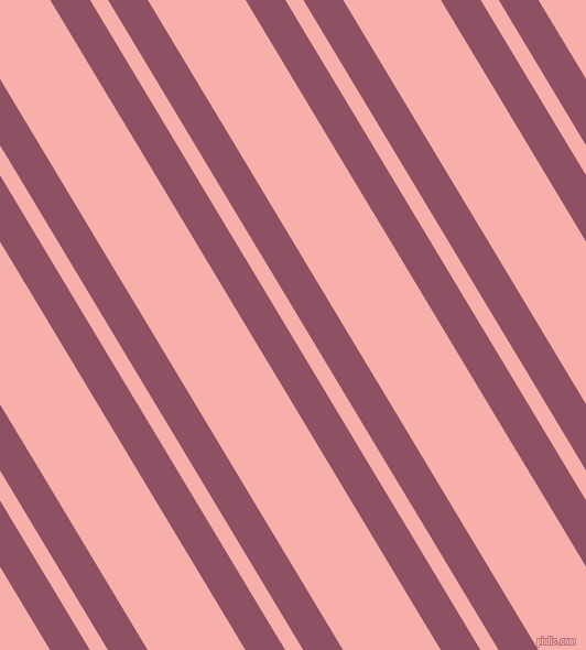 121 degree angle dual stripe lines, 31 pixel lines width, 14 and 76 pixel line spacing, Cannon Pink and Sundown dual two line striped seamless tileable
