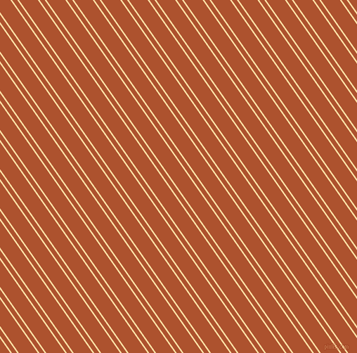 125 degree angle dual stripe lines, 2 pixel lines width, 6 and 22 pixel line spacing, Cape Honey and Red Stage dual two line striped seamless tileable