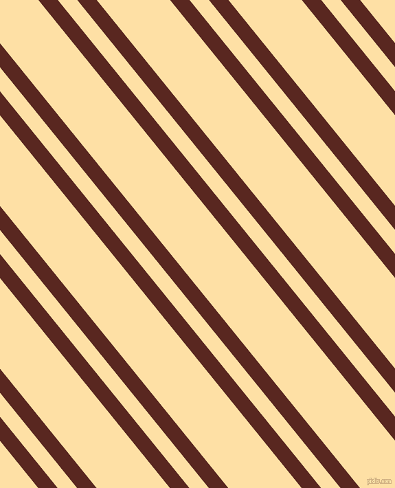 129 degree angles dual stripes lines, 22 pixel lines width, 22 and 83 pixels line spacing, Caput Mortuum and Cape Honey dual two line striped seamless tileable