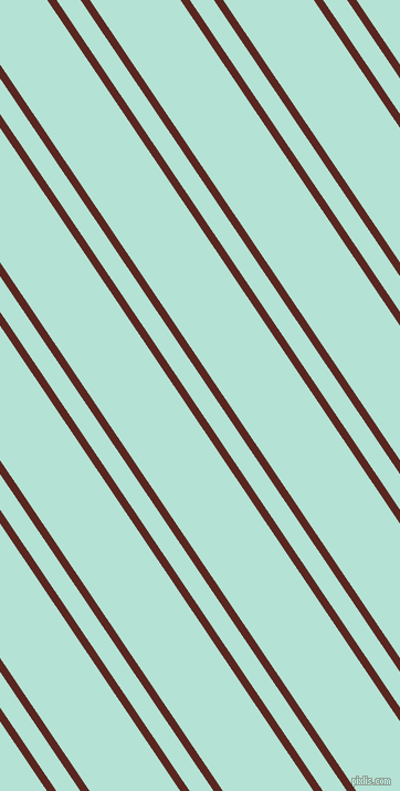 124 degree angle dual stripes lines, 7 pixel lines width, 18 and 68 pixel line spacing, Caput Mortuum and Cruise dual two line striped seamless tileable