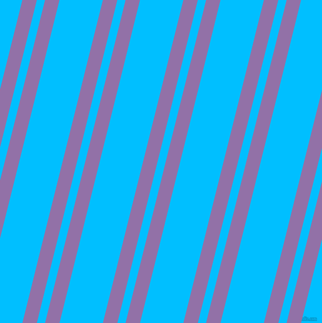 76 degree angles dual stripe line, 28 pixel line width, 16 and 84 pixels line spacing, Ce Soir and Deep Sky Blue dual two line striped seamless tileable