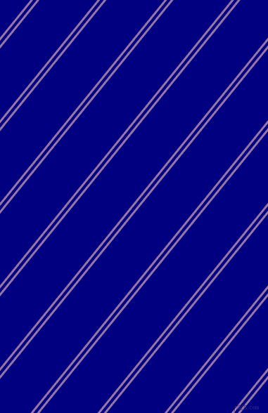 51 degree angle dual stripe lines, 3 pixel lines width, 4 and 64 pixel line spacing, Ce Soir and Navy dual two line striped seamless tileable