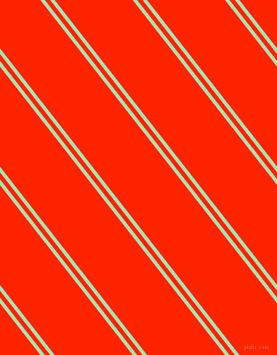 128 degree angles dual striped lines, 5 pixel lines width, 6 and 87 pixels line spacing, Celadon and Scarlet dual two line striped seamless tileable