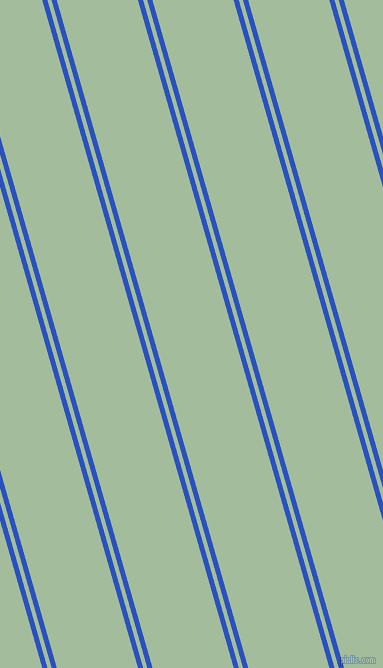 106 degree angle dual striped lines, 5 pixel lines width, 4 and 78 pixel line spacing, Cerulean Blue and Spring Rain dual two line striped seamless tileable