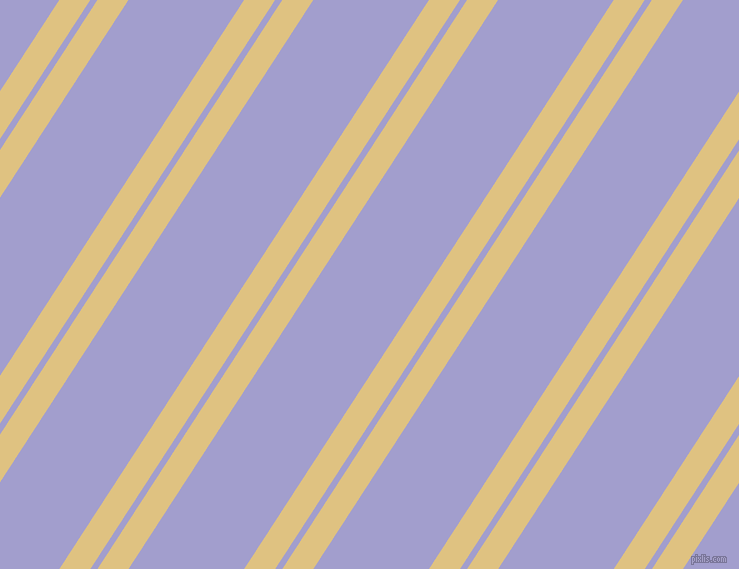 57 degree angles dual stripes line, 26 pixel line width, 6 and 97 pixels line spacing, Chalky and Wistful dual two line striped seamless tileable