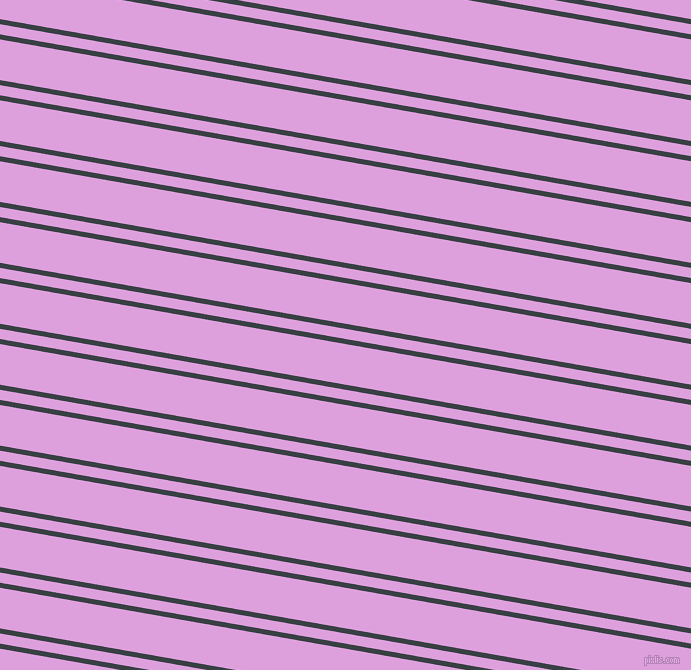 170 degree angle dual stripe line, 5 pixel line width, 10 and 40 pixel line spacing, Charade and Plum dual two line striped seamless tileable
